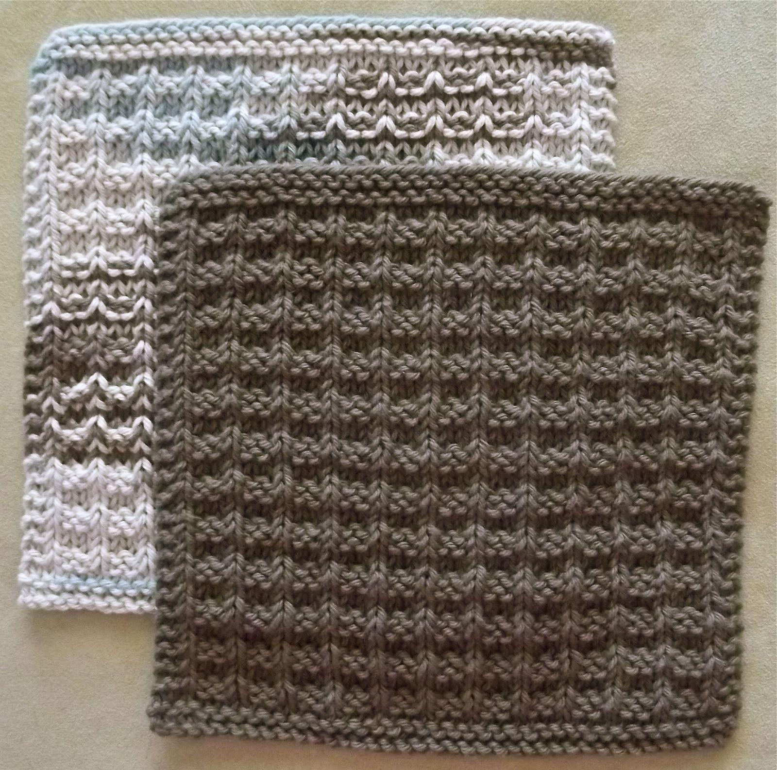 Noni\'s Favorite Kitchen Dishcloth - Free Knitting Pattern - (ravelry ...