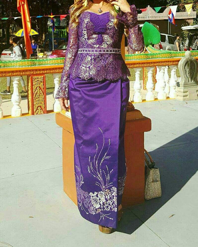 Pin de Veronica Tim en Traditional Khmer Clothes | Pinterest