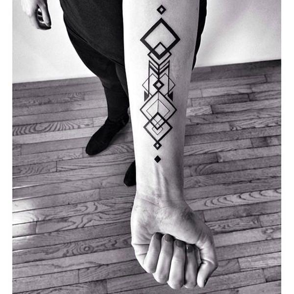 geometry tattoos