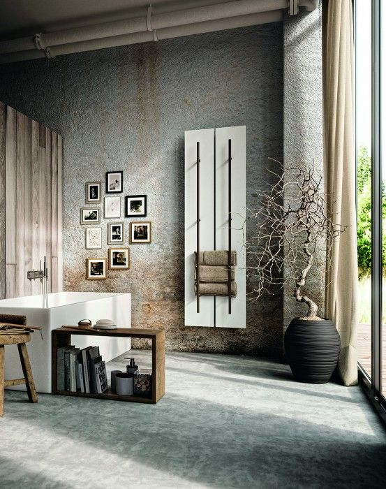 blanc #white #chauffage #Teso #Antrax #radiator #porte-serviettes