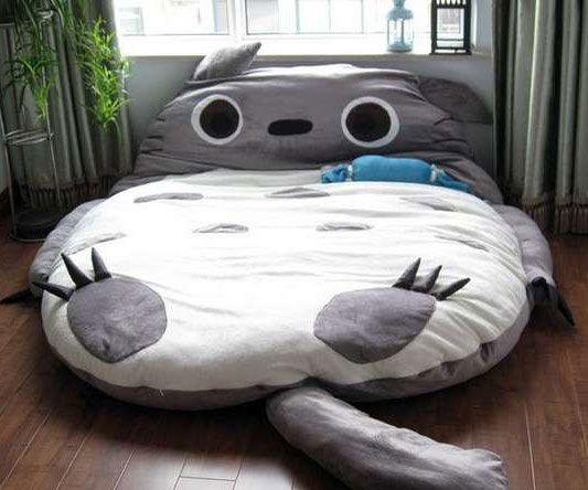 Take A Little Cap Nap With This Totoro Cat Bed That Also Functions As Sleeping