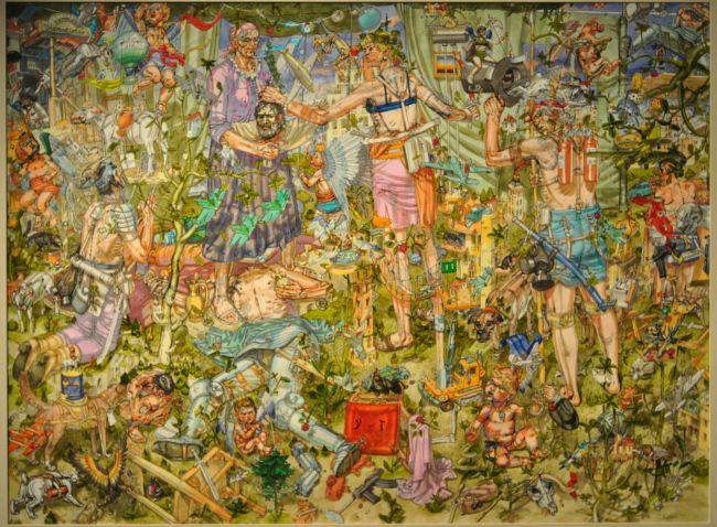 "Nebojsa Bezanic (1964 – ), ""Judith Beheading Holofernes,"" 2011, oil on canvas, 100 x 75 cm, http://www.vanvredenburgh.com"