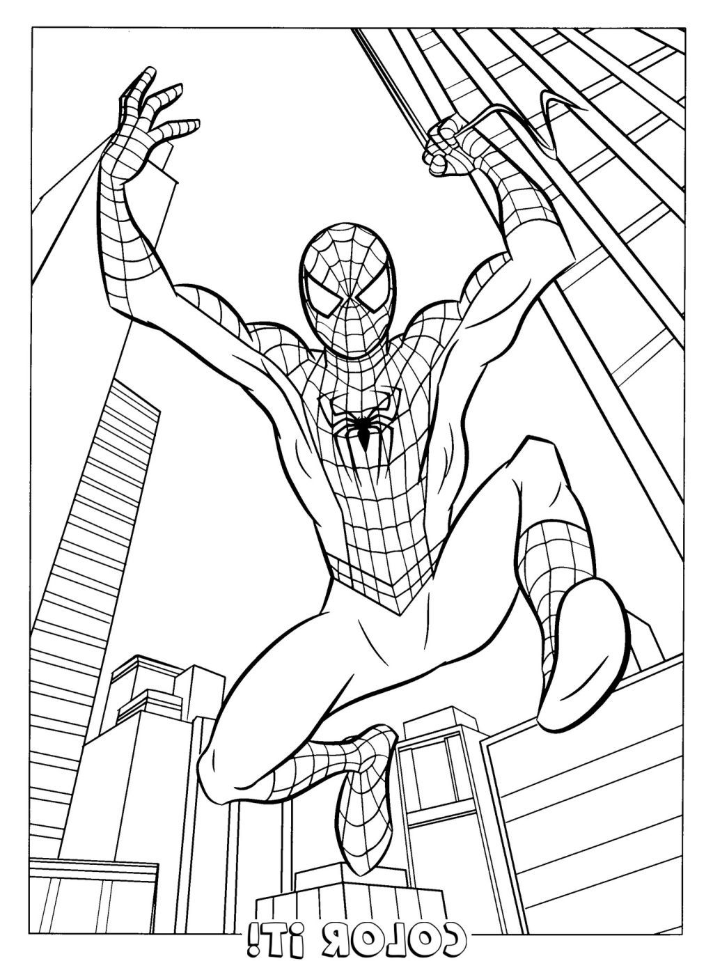spiderman coloring book | ΖΩΓΡΑΦΙΚΗ | Pinterest | Spiderman ...
