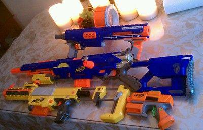 Nerf Guns Lot of 4 | eBay