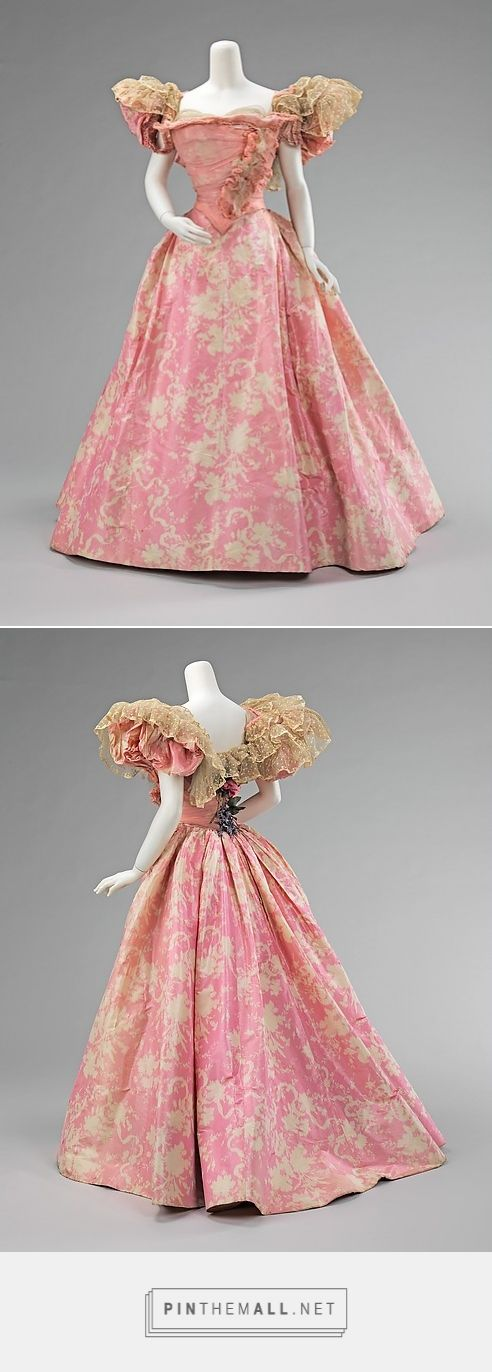 Ball gown by House of Paquin 1895 French | The Metropolitan Museum of Art