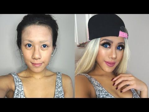 Asian Celebrities Before And After Makeup | Makewalls co