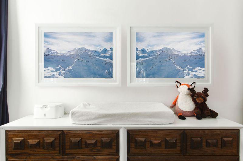 Home/Room Tour: Sleeping in a Winter Wonderland