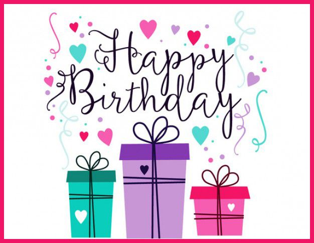 Happy Birthday Card Template  Tarjetas De Cumpleaos  Tarjetas