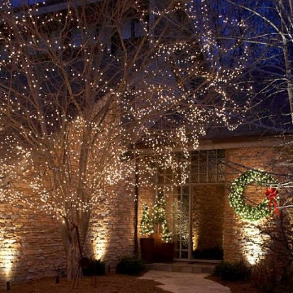 Star-Bright Lights Outdoor Christmas Lights Decorating Design