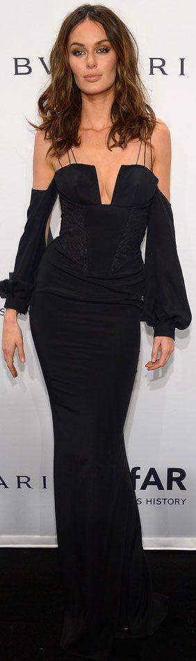 Nicole Trunfio - 2014 amfAR New York Gala 2/5/14