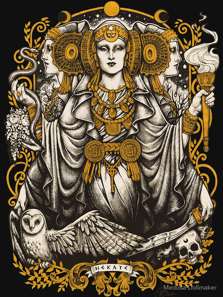 IBERIAN HECATE | Slim Fit T-Shirt in 2019 | Warrior ...