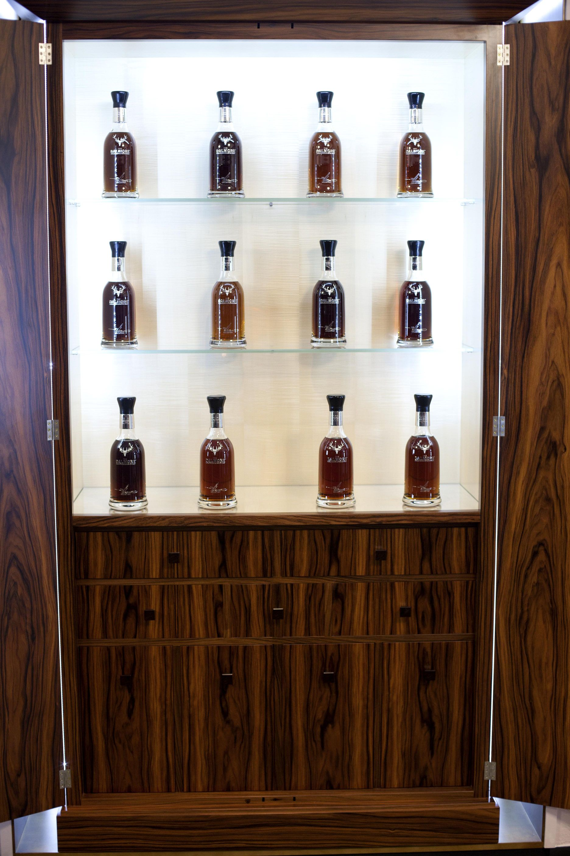 Whiskey Cabinet In Santos Rosewood