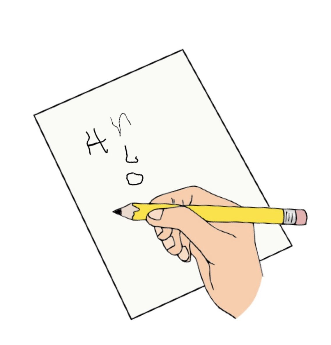 Handwriting Problems With Images