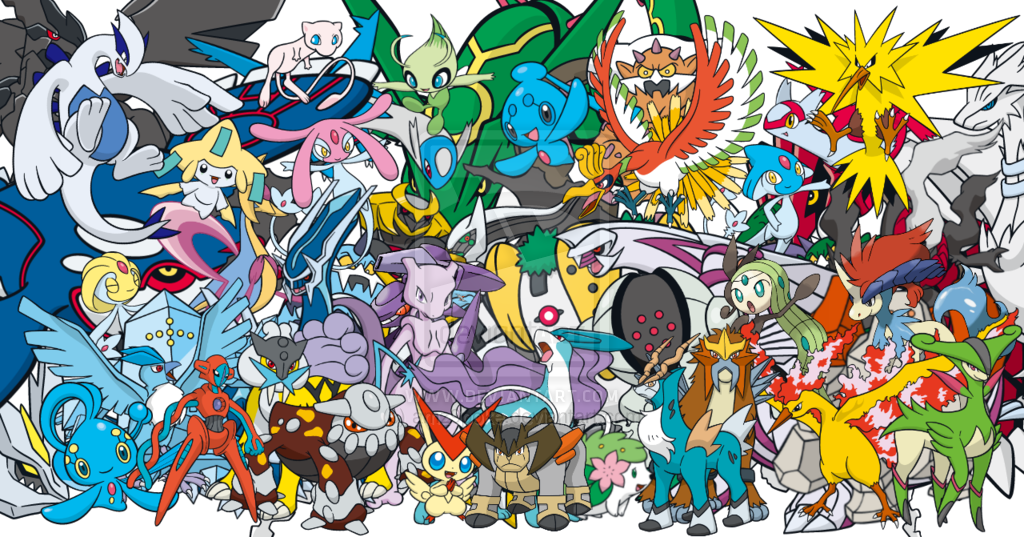 Legendary Pokemon Wallpapers For Computer Wallpaper Cave