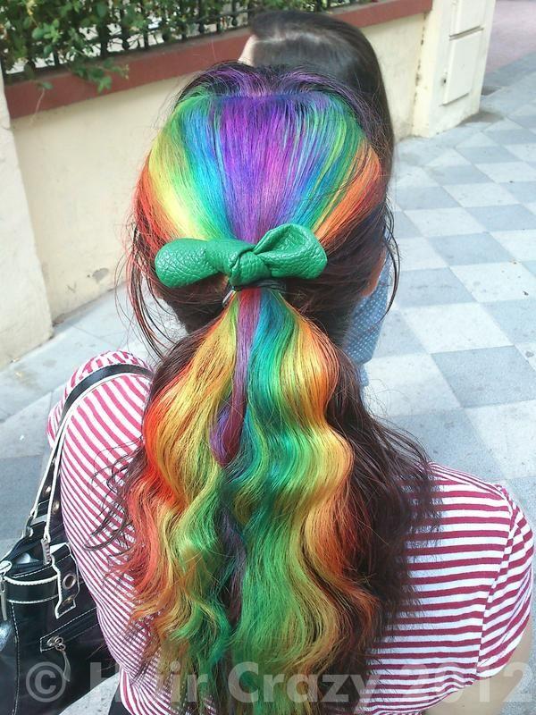 kind of amazing - rainbow hair