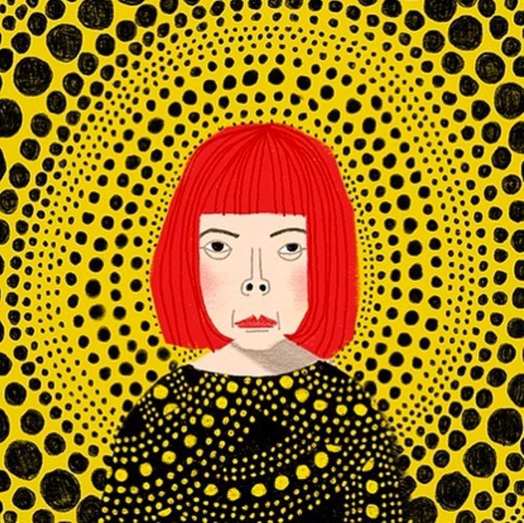VOXA Voices Yayoi Kusama This 87year old Japanese artist