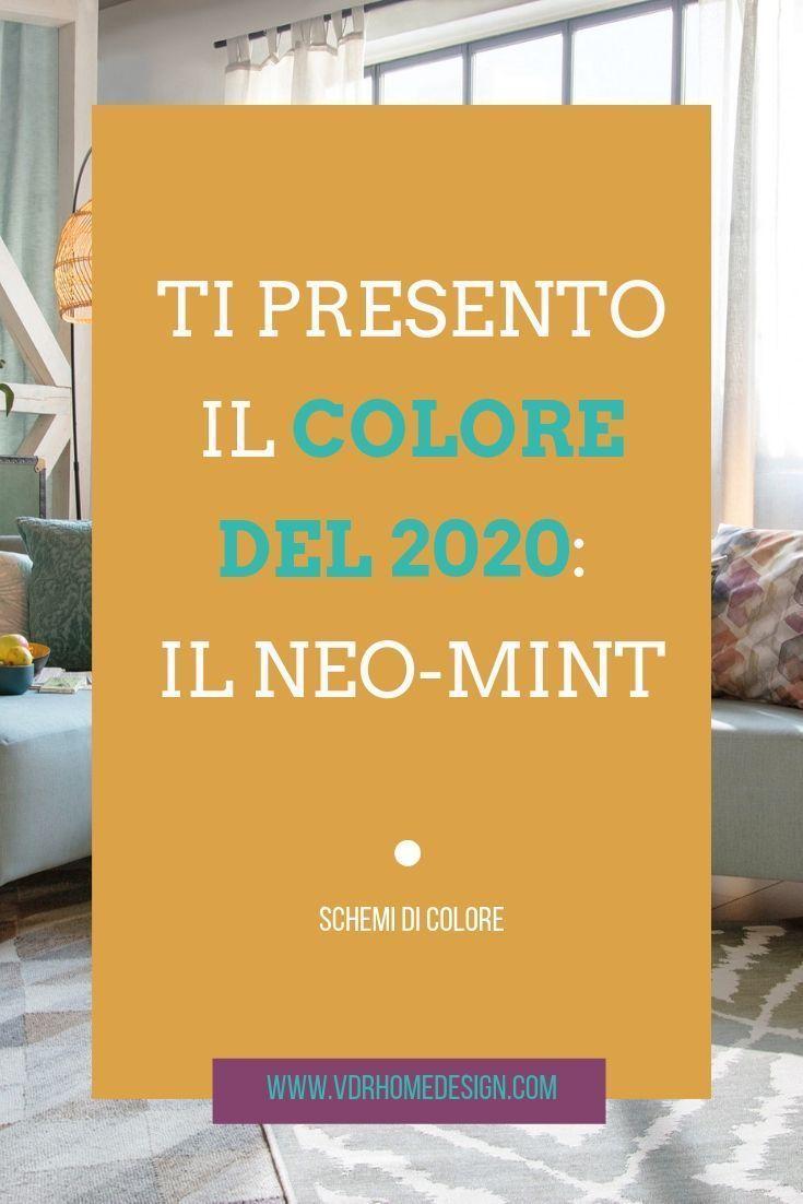 Stai ancora facendo pace col colore di quest'anno che già si parla del colore del 2020: il Neo-Mint. Una tonalità delicata di verde che di sicuro ti piacerà. #colortrend #2020color