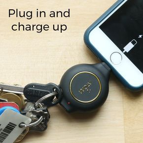 AtomXS: Emergency Phone Charger Keychain