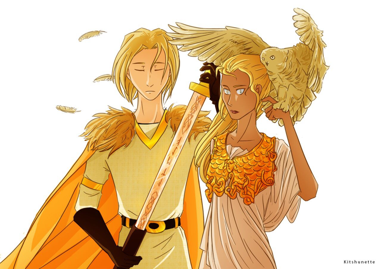Son of Frey // Daughter of Athena
