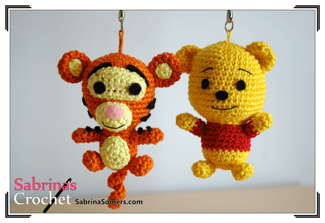 Amigurumi Patron Gratuit : Crochet pattern tigger crochet patron patron gratuit et amigurumi
