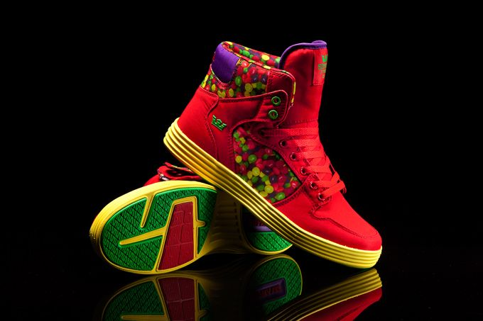 Lil Wayne Vice Sneaker Pack x SUPRA - Vaider  Lite Candy Paint #Sneakers   I haven't decided how I feel about these yet.
