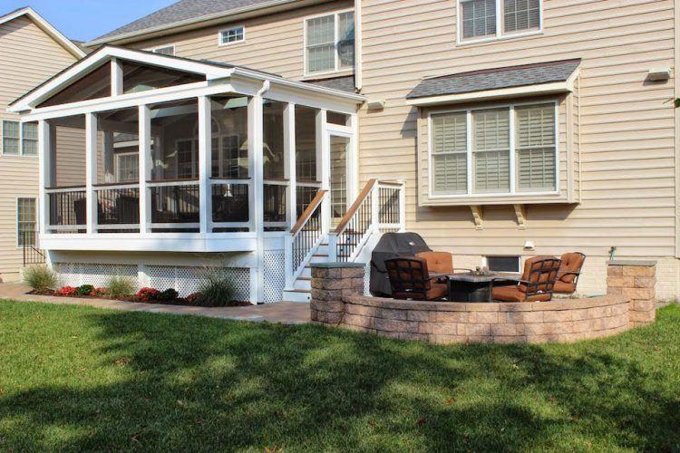 Custom Porch Builder In Northern Va Steadfast Construction