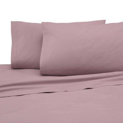 The Twillery Co Okeefe Cotton Blend Sheet Set Sheet Thread