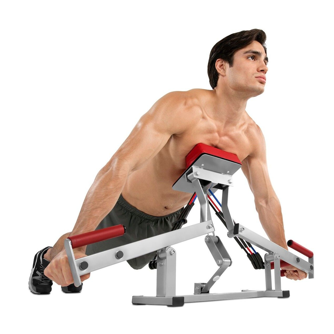 Rocket Fitness Push Up Pump Body Sculpting Machine As Seen On Tv Push Up Workout Gym Workouts Best Chest Workout