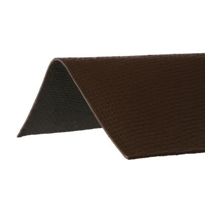 Ondura 3 29 Ft X 12 1 2 In Ridge Cap Asphalt Roof Panel In Brown 5258 The Home Depot Roof Panels Asphalt Roof Ridge Cap