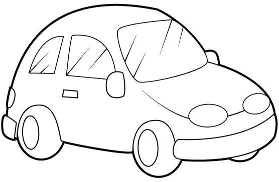 Resultado de imagen para autos sencillos para pintar | Actividad ...