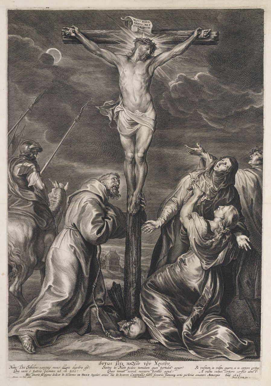 Kruisiging, Pieter de Bailliu Bailliu, Pieter de (I) (1613-1660), 1643