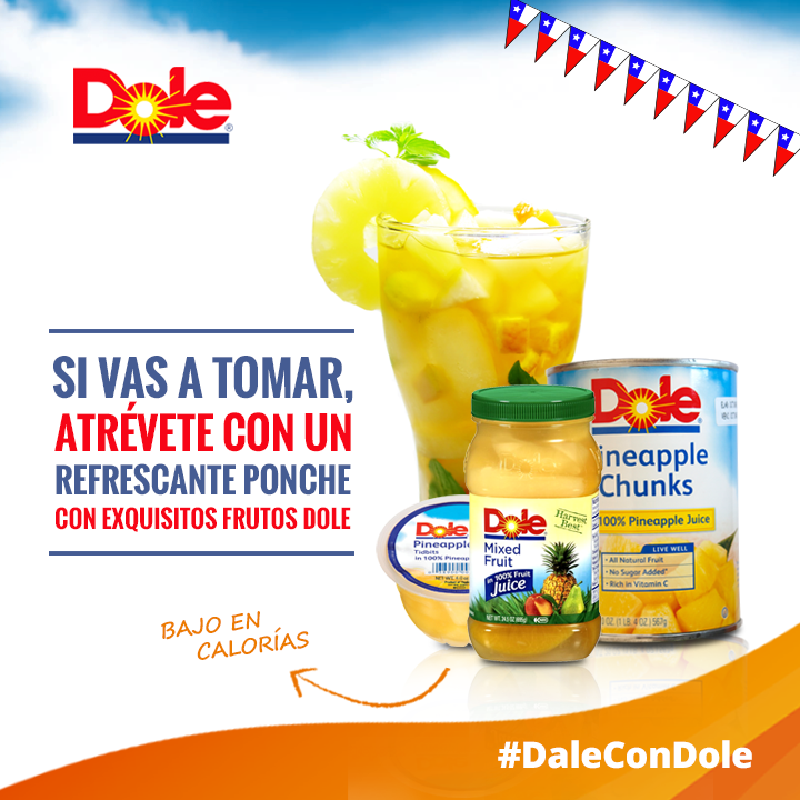 Dale con un cocktail distinto #DaleConDole