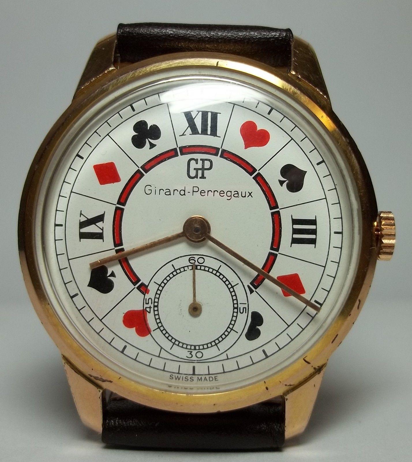 Poker Watch Dial