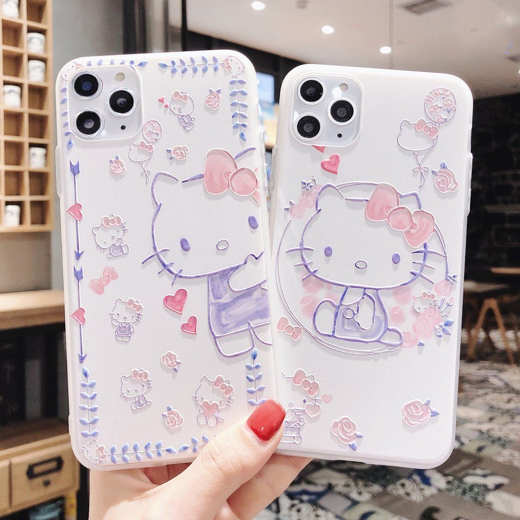 Cute Hello kitty Phone Case for iphone 6/6s/6plus/7/7plus