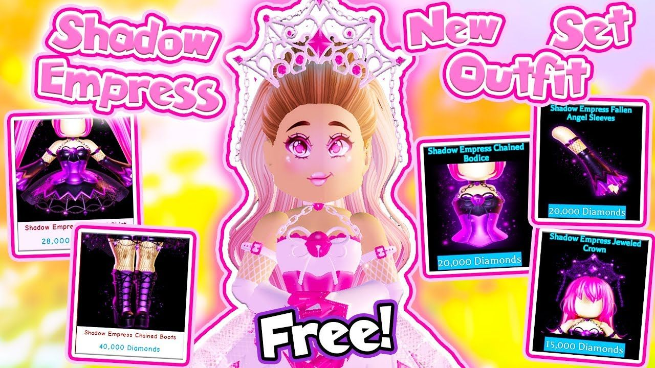 How To Get The New Shadow Empress Set For Free In Roblox Royale