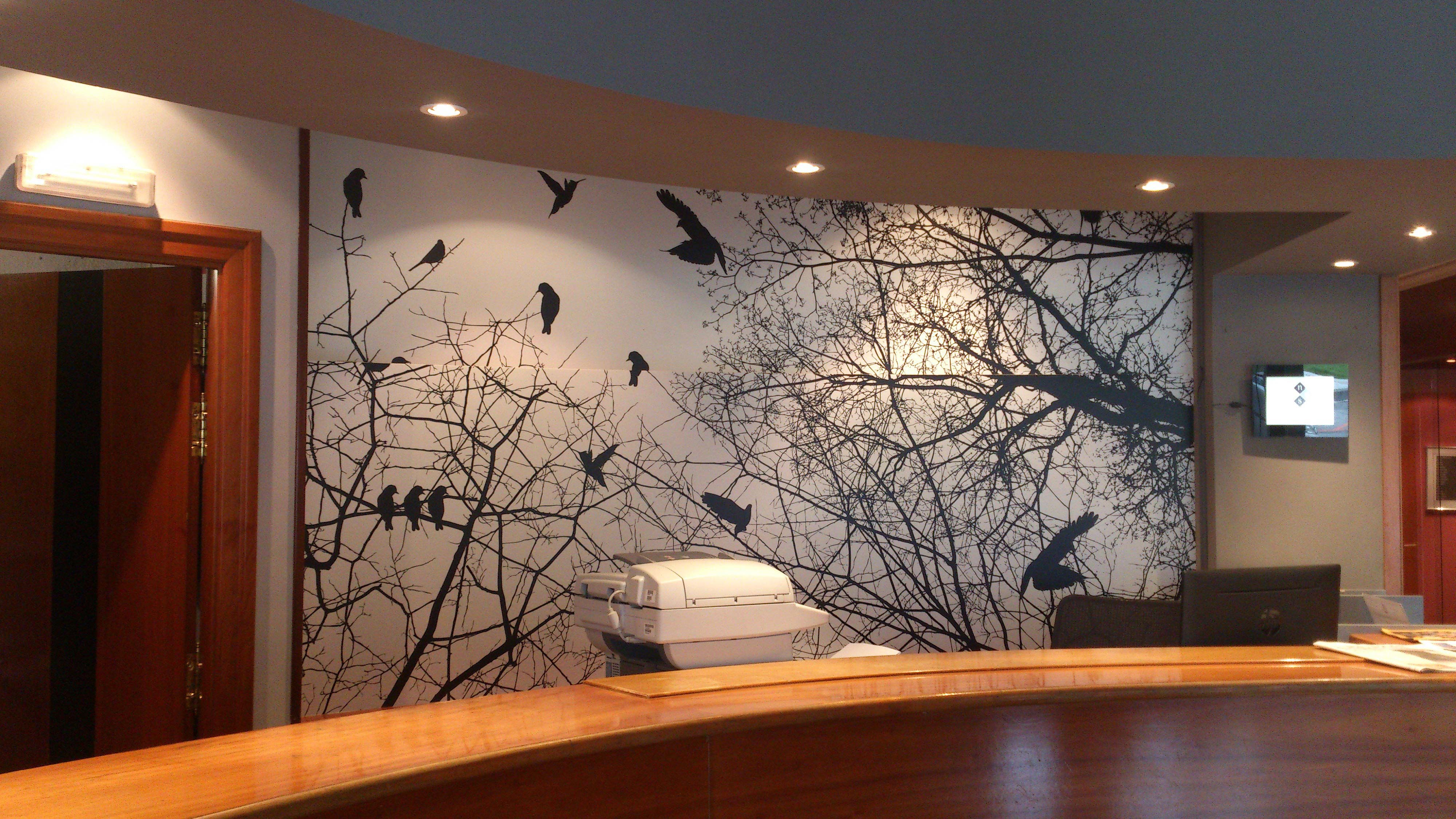 Vinilos y fotomurales decoraci n paredes y habitaciones for Fotomurales y vinilos