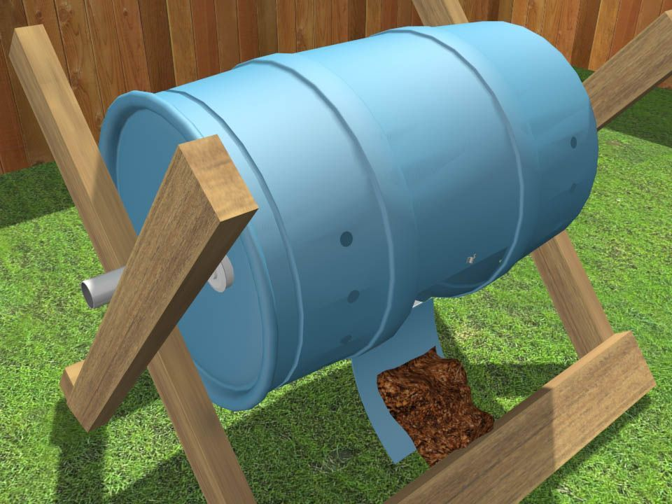 a Tumbling Composter How to Build a Tumbling Composter -- via .  Site includes several short videos for instruction.How to Build a Tumbling Composter -- via .  Site includes several short videos for instruction.