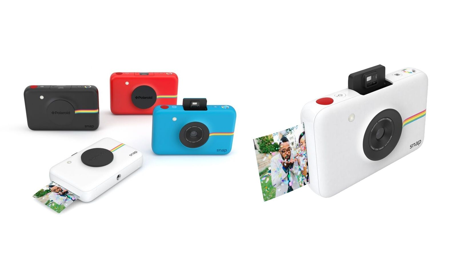 Pocket Size Polaroid Spits Out Instant Prints Polaroid Snap Polaroid Instant Camera Instant Digital Camera