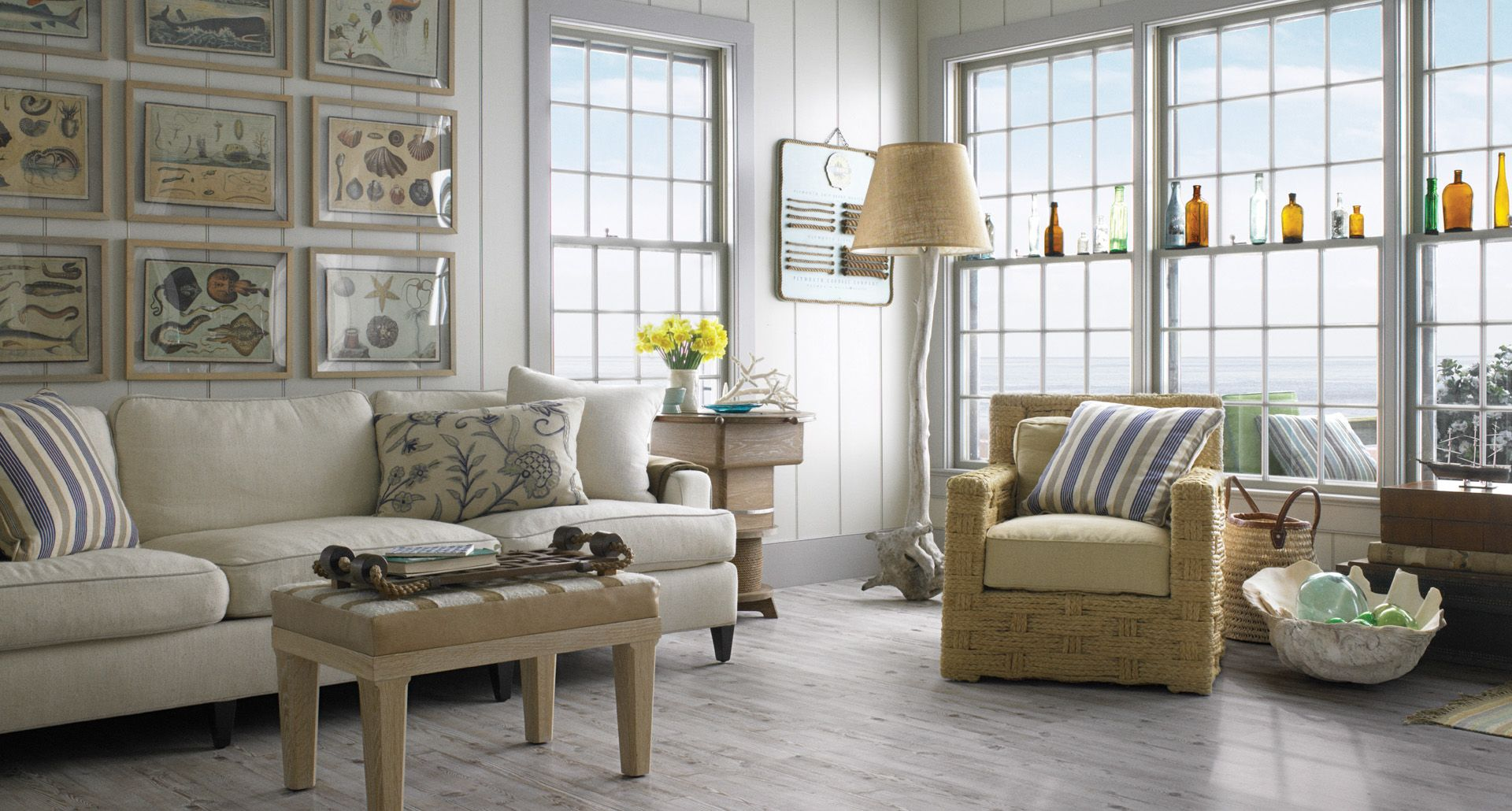 Driftwood Pine PERGO MaxR Laminate Floorings Grey Hues Does An Excellent Job Of Accentuating Vibrant