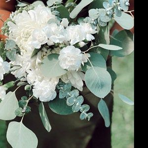 Photo of Fresh Seeded Eucalyptus Wreath, Fresh Eucalyptus Wreath, Eucalyptus Wreath