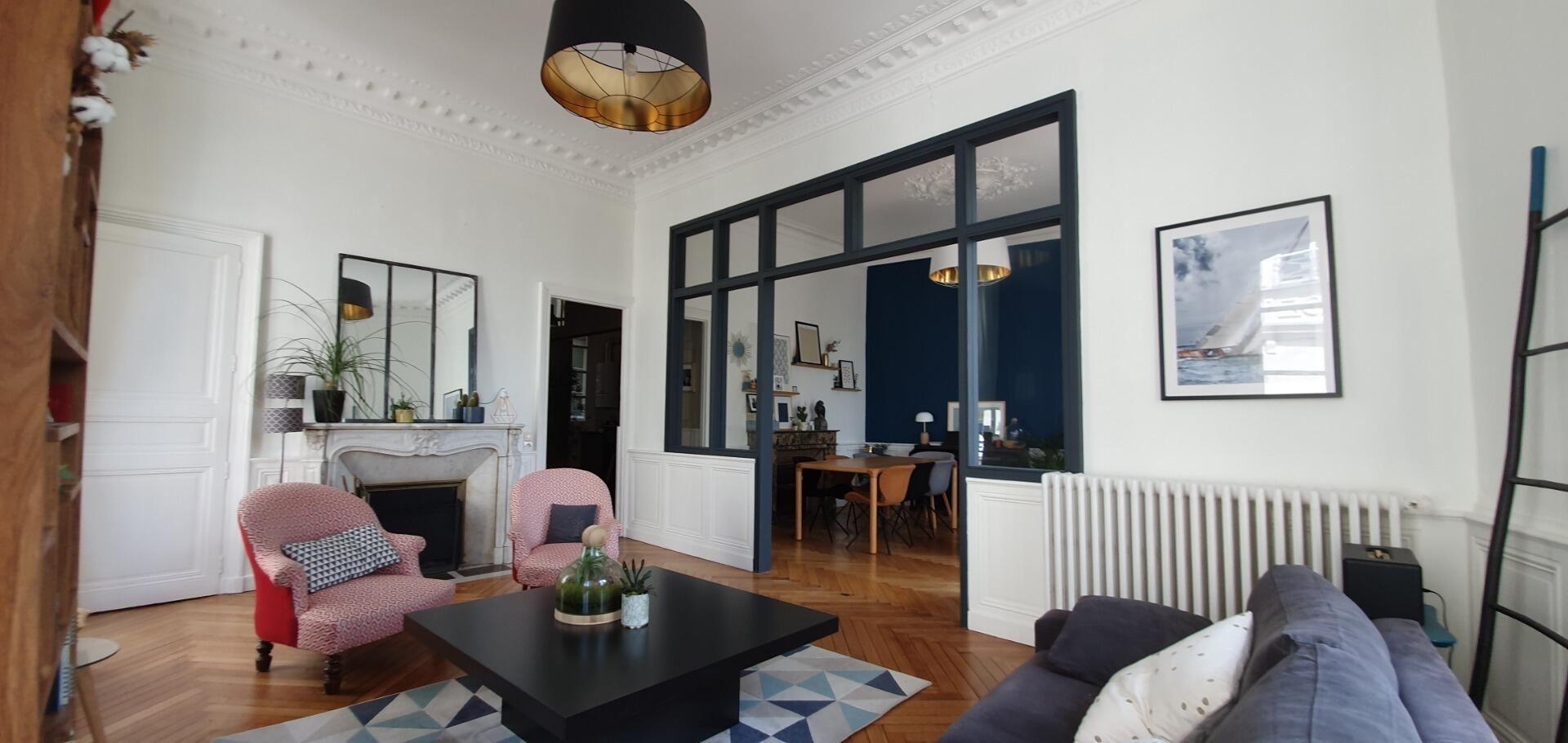 Vente Appartement 5 Pieces Nantes Centre Ville 44000 A Vendre 5 Pieces T5 110 M 555 000 Nantes En 2020 Vente Appartement Appartement Appartement Nantes