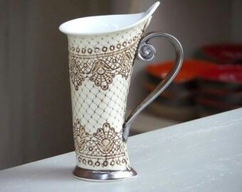 Ceramic Cups, Tea Mugs, Coffee Cups, Banner, Design Ideas, Sweet, Discount  Shoes, Pottery, Ceramics