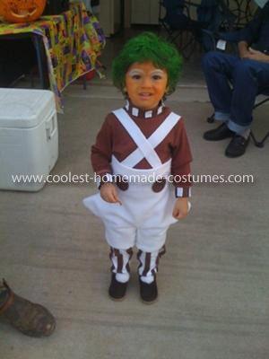 coolest oompa loompa child costume - Oompa Loompa Halloween