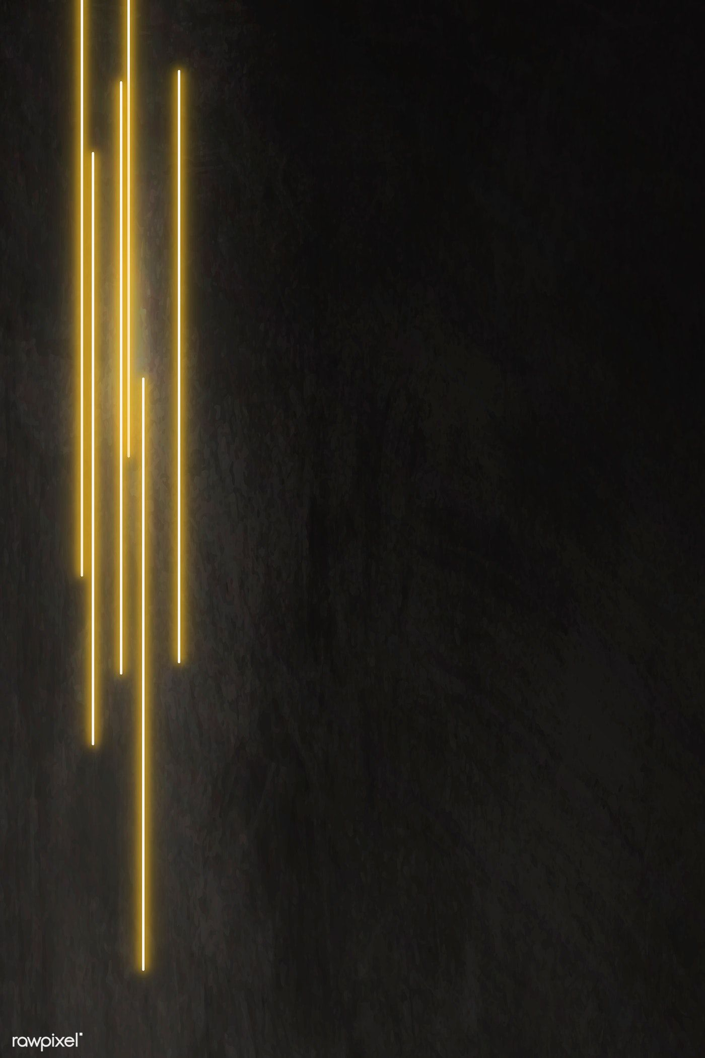 Yellow Glowing Lines On Black Background Vector Premium Image By Rawpixel Com Aew Gold Wallpaper Hd Black Background Wallpaper Black Background Images