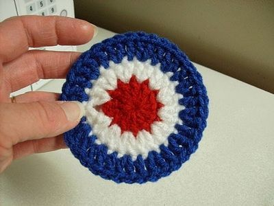 How to Crochet a 4th of July Coaster thumbnail