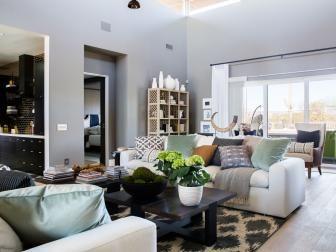 Hgtv Living Room Designs Full Room Tours Of Hgtv Smart Home 2017  Hgtv Smart Home 2017