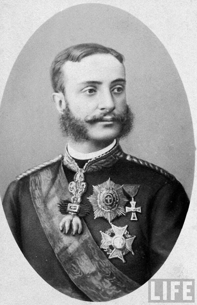 Su Majestad Alfonso XII, Rey de España (1874-1885)