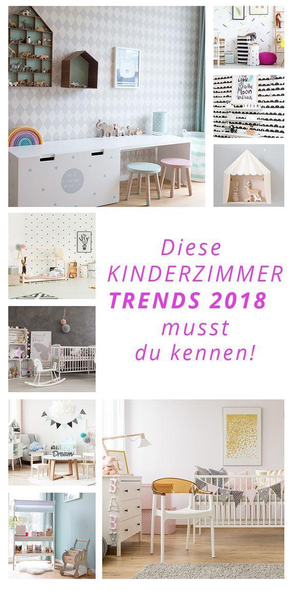 Diese Kinderzimmer Trends 2018 musst du kennen! Kleines