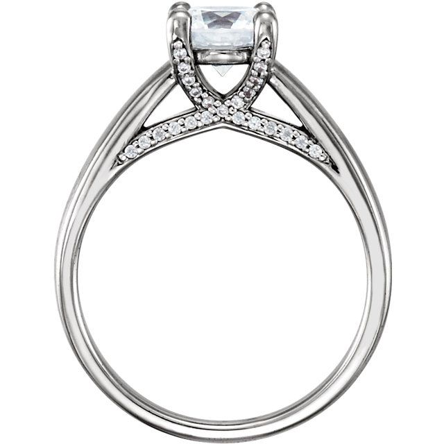14k white gold round diamond engagement ring    Order this from Bauble Patch Jewelers today!  http://baublepatch.jewelershowcase.com/browse/wedding-and-engagement/  or call (616)785-1100