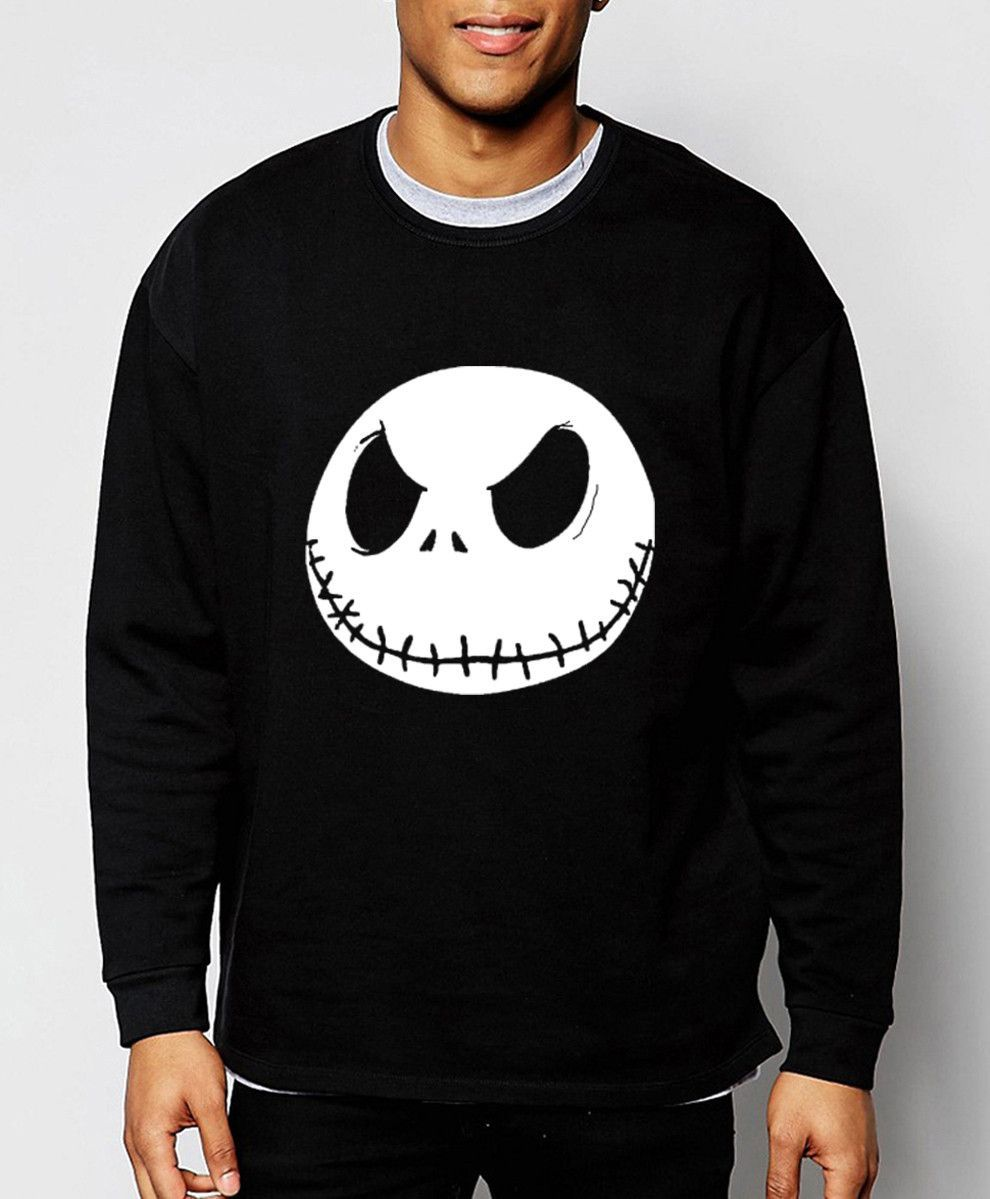 Jack Skellington Pullover My Style Hoodies Sweatshirts Men Sweater